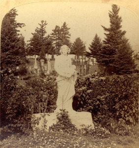 Decorative monument in Cataraqui Cemetery, early 1900s (Collection John Grenville)