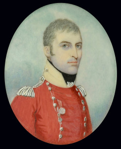 Portrait miniature of Colonel Francis Skelly Tidy, CB (1766-1835) by Frederick Buck (1771-c.1839)
