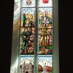World War I memorial window, Princess of Wales' Own Regiment, 21st Canadian Battalion, in St. Paul's Church