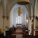 Looking toward the chancel in St. Paul's Church