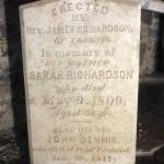 Sarah Richardson d 1809