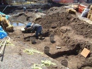 Excavation of the Union Cemetery in 2002 by the Cataraqui Archaeological Research Foundation