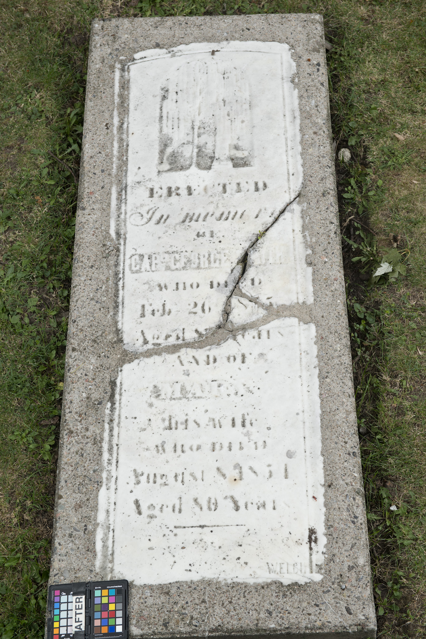 Marker for George and Mary Smith (Alex Gabov)