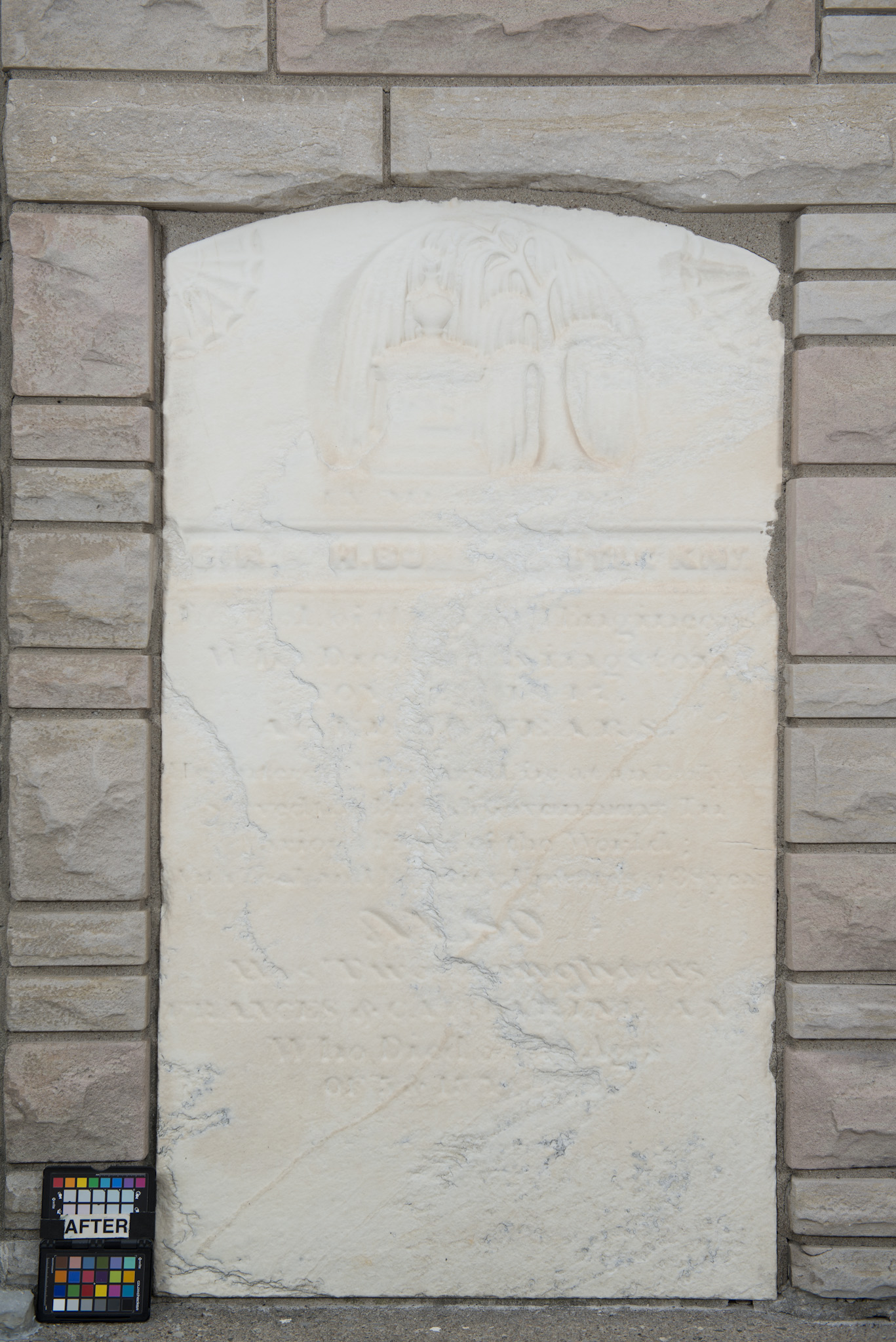 Marker for Sir Richard Henry Bonnycastle, with reference to his daughters Frances and Catherine